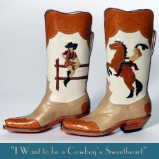 I want to be a cowboy's sweetheart
